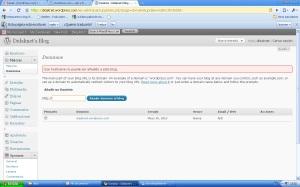 paso 1 para comprar dominio desde wordpress