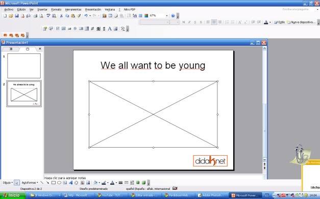 cuarto paso como insertar vídeo de you tube en powerpoint