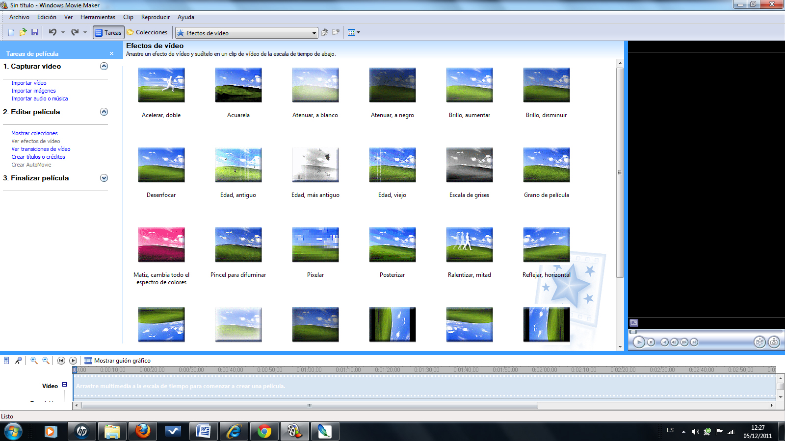 Efectos De Video Para Movie Maker